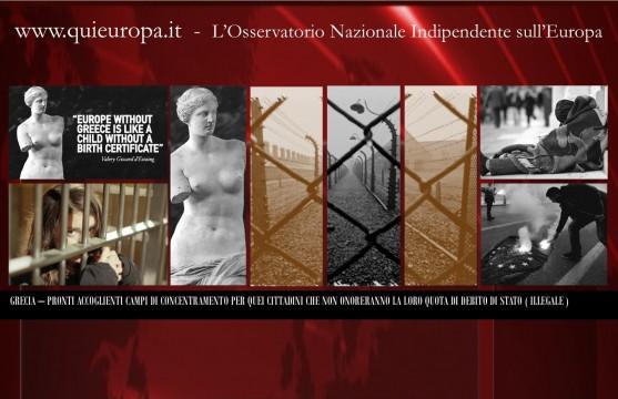 Grecia, in cella chi non paga il debito di stato illegale - di Sergio Basile