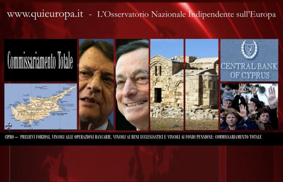 Dittatura Ue - Cipro