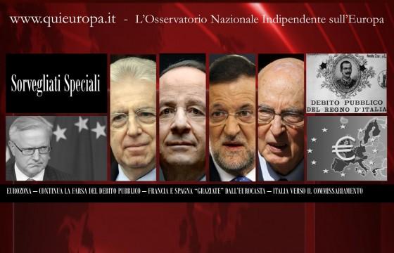 Euro Zona - Ultimatum di Bruxelles all'Italia