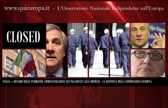 Ritardi P.A. - La Risposta della Commissione europea