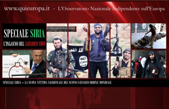 Al-Qaida, Siria e New World Order