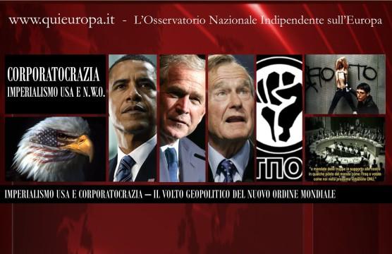 Corporatocrazia Usa e Nuovo ordine Mondiale - New World Order