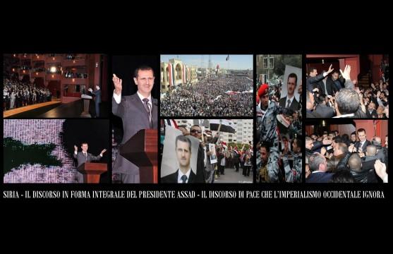 Discorso di Assad Censurato da tutti i Media occidentali