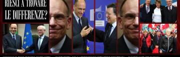 Enrico letta - Tour Europeo - Barroso - Van Rompuy