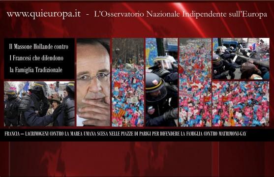Hollande-e-i-Matrimoni-Gay-Proteste-e-Lacrimogeni-a-Parigi-557x360