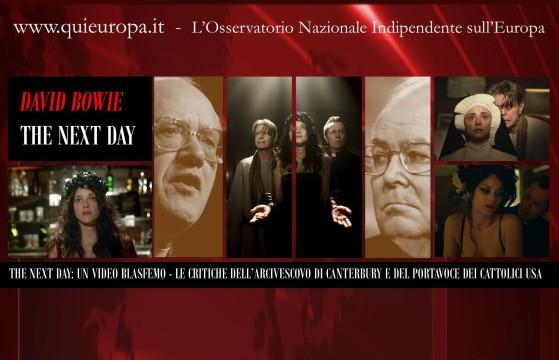 Il Lato Oscuro della Musica - The Next Day - Le Critiche dell'Arcivescovo di Canterbury