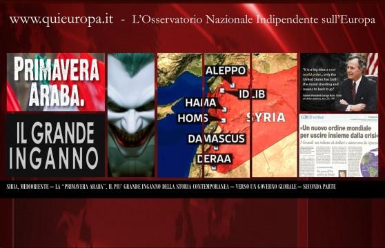 Inganno Primavera Araba