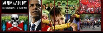 Protesta mondiale contro Monsanto