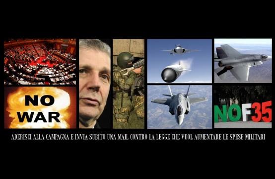 No-alla-Guerra-No-agli-F35-No-allaumento-delle-Spese-Militari-No-al-Decreto-del-Ministro-Di-Paola-554x360