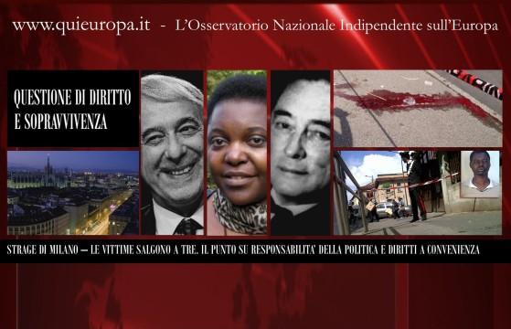 Aggressione a Picconate - Borghezio: ecco chi sono i responsabili morali dei morti di Milano  Il Buonismo Idiota di certe autorità istituzionali che ancora predicano la chiusura dei CIE Borghezio: i veri responsabili dei morti di Milano sono  alcuni dei nostri connazionali