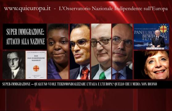 Super Immigrazione - Attacco all'Italia - Kyenge - Borghezio - Allam