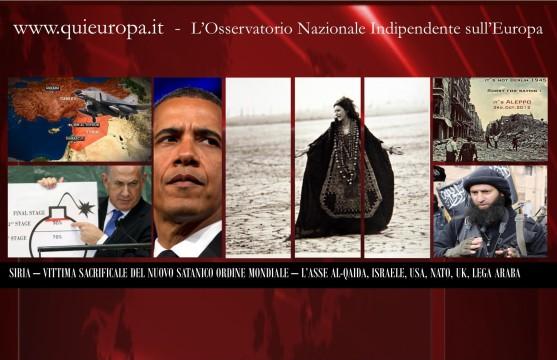 Syria and New Satanic World Order