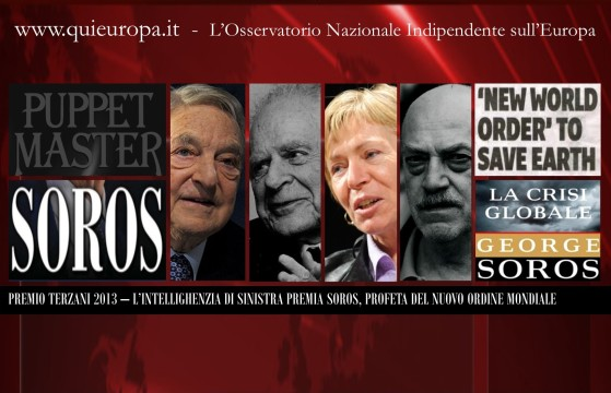 George Soros - Premio Terzani 2013
