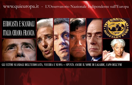 Berlusconi, lagarde, sarkozy