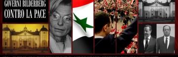 Governi Bilderberg contro la Pace in Siria