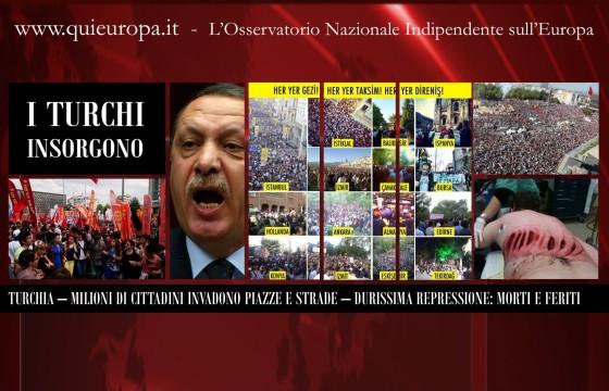Morti e Feriti in Turchia - Rivoluzione contro Erdogan