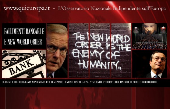 New World Order - Olli Rehn e l'Europa