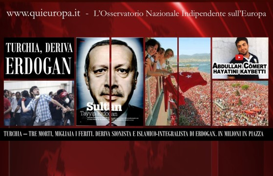Scontri e Morti in Turchia - Turkey Revolution
