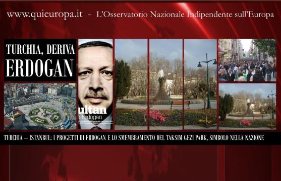 Taksim Gezi Park - Erdogan's Project