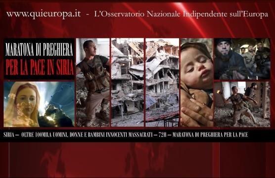 Annalisa Colsi - Maratona di Preghiera per la Pace in Siria