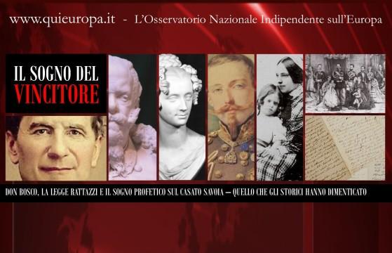 Don Giovanni Bosco e la profezia a Vittorio Emanuele II