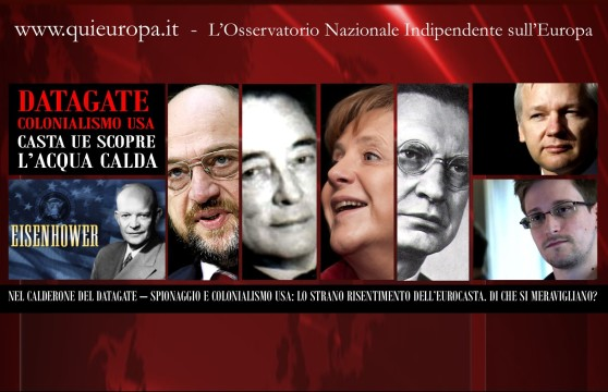 Eurocasta - Colonialismo Usa e Datagate -Snowden