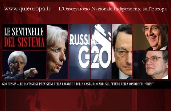 G20 - Economia e Finanza - Russia