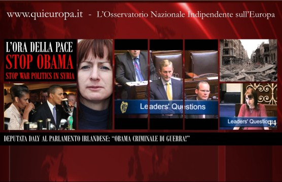 Ireland Parliament - Clare Daly - Syria