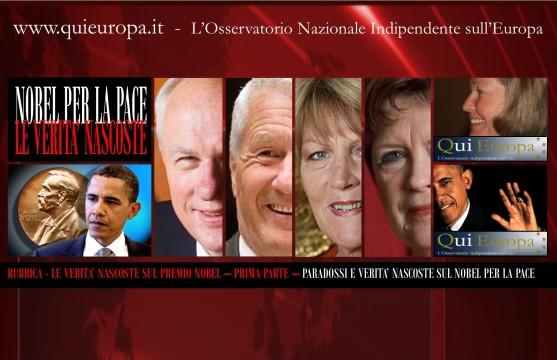 Le Verità Nascoste sul Premio Nobel - Nobel Price for Peace