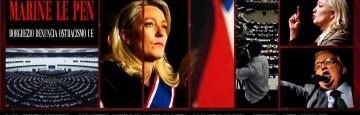 Marine Le Pen - Mario Borghezio - Parlamento Europeo