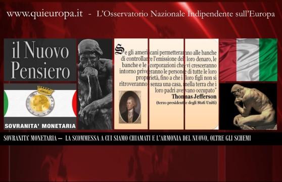 Sovranità monetaria - Elen Levante