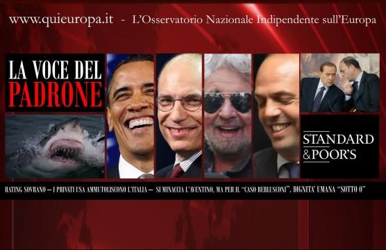 Standard & Poor's - Declassamento Italia
