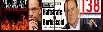 Berlusconi Condannato - Letta Ammazza l'Art. 138 Costituzione