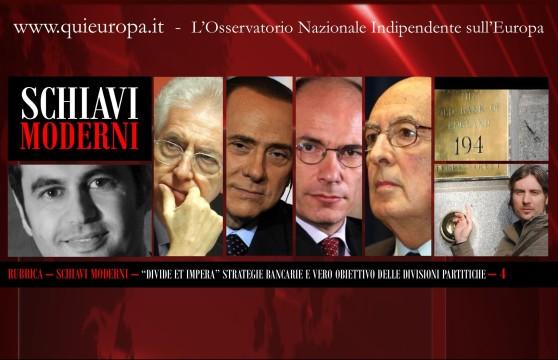 Cosimo Massaro - Sergio Basile - Strategie Bancarie e Divisioni Partitiche