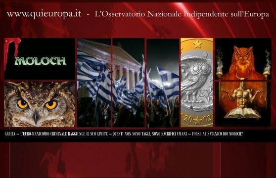 Grecia - sacrifici umani