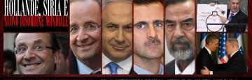 Hollande, Siria e Nuovo Ordine Mondiale