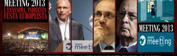 Meeting Rimini - Enrico Letta - Papa Francesco - Monito