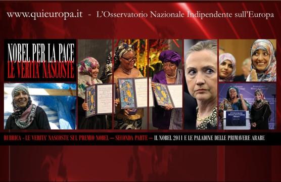 Nobel per la Pace 2011 - Le Paladine delle Primavere Arabe
