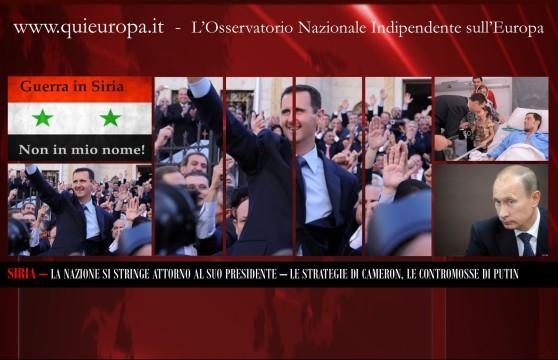 PEACE FOR SYRIA - ASSAD