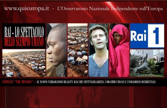 RAI - Fermate The Mission - Congo, Mali