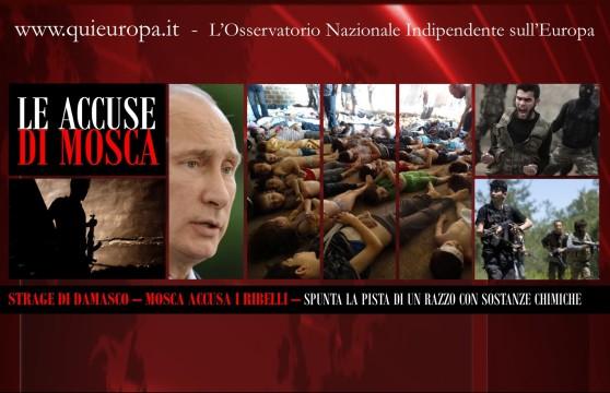 Russia - Strage Damasco - Ribelli