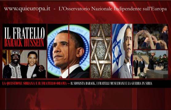 Barack Obama - Fratelli Musulmani - Siria