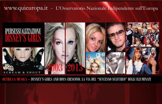 Disney - Britney Spears - Justine Timberlake - Illuminati
