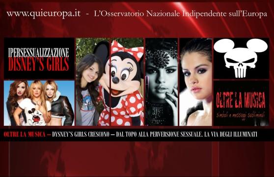 Disney e Perversione Sessuale - Disney's Girls