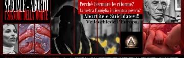 Legge 194 - Aborto - Illuminati - I Signori della Morte