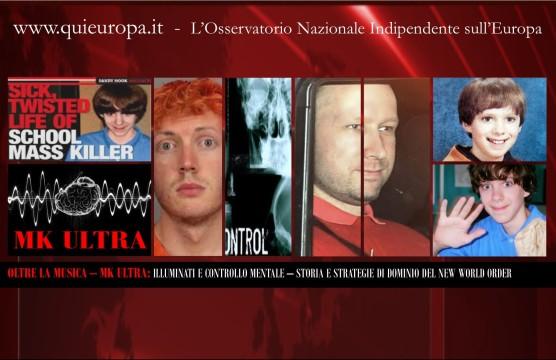 MK ULTRA - EPISODI STRANI E STRAGI SOSPETTE - OLTRE LA MUSICA