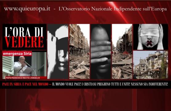 Siria - Pace - Papa Francesco - Angelus - Padre Piotr