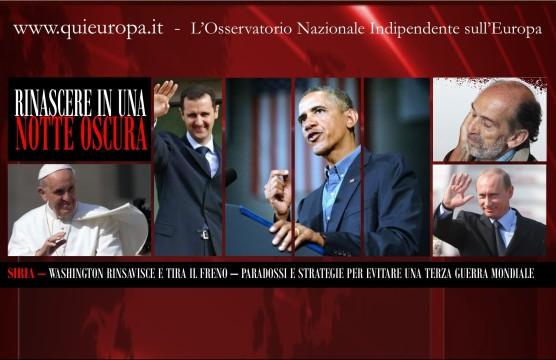 Siria - Syria - Washington - Quirico - Putin - Papa Francesco