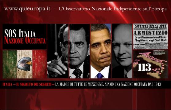 Italia, Usa, Basi Usa Nato, Nazione occupata