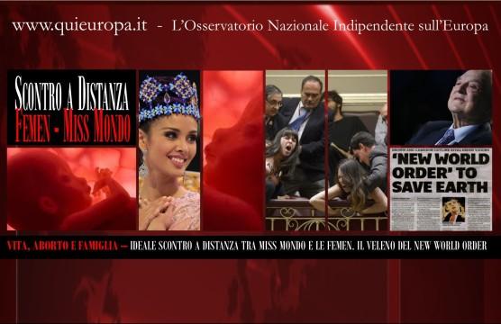 femen - megan young - parlamento madrid